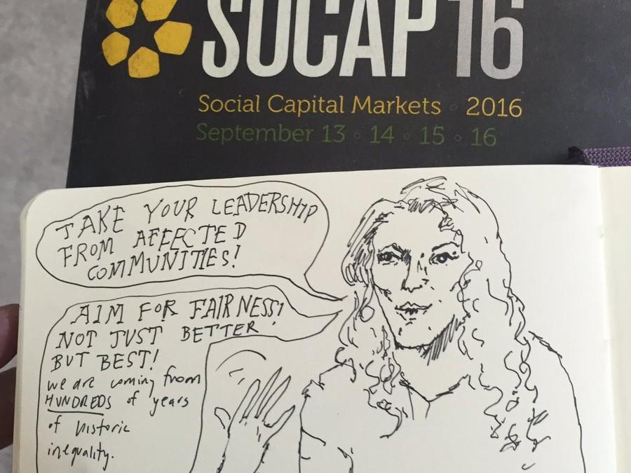 SOCAP conference quick comics
